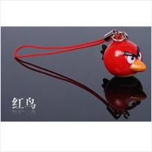 AB001 Red Angry Bird Mobile Phone Chain
