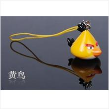 AB004 Yellow Angry Bird Mobile Phone Chain