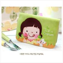 PR032_Apple Green Korean Momoi Card Case