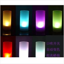 L005 LED electronic Color Change flicker light Candle sensor (Bid) -Gi