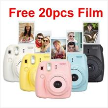 New Fuji Fujifilm Instax Mini 8 Camera Free 20pcs Film (MSIA)