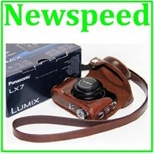 New Leather Case for Panasonic Lumix LX7 Digital Camera