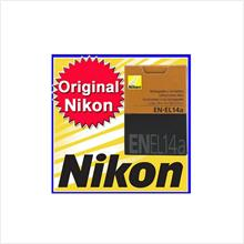 New Nikon Original EN-EL14a Battery for D3200 D5200 D5100 D3100