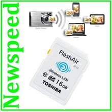 WiFi 16GB SD Card Toshiba FlashAir X-Ray Proof Memory Card