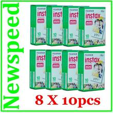 New Fuji Fujifilm Instax Mini Film for 7S 50S 25 8 Camera (8 pack)