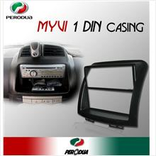 PERODUA MYVI Single/ 1 Din Black Dashboard Panel Casing