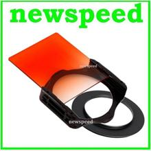 82mm SET Tianya Sunset Grad Orange Square Filter for Cokin P Series