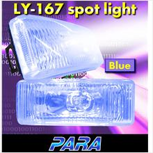 PARA PR-111 4.8'x1.5' Blue Spot Light/ Fog Lamp [Free H3 Bulb]