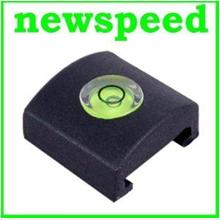 New Flash Hot Shoe Cover Cap hotshoe Bubble Spirit Level for Minolta