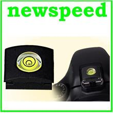 New Flash Hot Shoe Cover Cap hotshoe Bubble Spirit Level for Canon