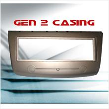 PROTON GEN 2 Single Din Metalic Gold Color Casing