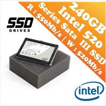 Intel 520 Series 2.5' 240GB Solid State Drive-SSD (R:550,W:520) Offer!