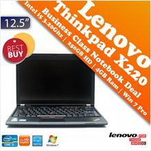 Lenovo Thinkpad X220 Core i5 Business Class Solid Notebook Super Deal!