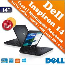 Dell Inspiron 14 (3421) Core i3 Notebook Hari Raya Super Offer Deal!