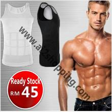00094TV Hot Slim'N lift men abdomen/waist belly slimming vest