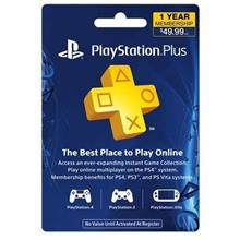 12-Month Playstation Plus US Membership Card (PlayStation 4)