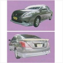 Nissan Almera IM Style Full Set Body Kit [Fiber/PU Material]