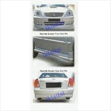 Hyundai Accent Full Set Skirting Body Kit [PPU Material]