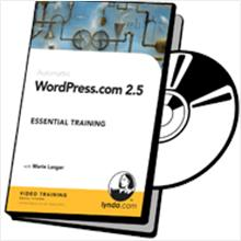 Lynda WordPress.com 2.5 Essential Training