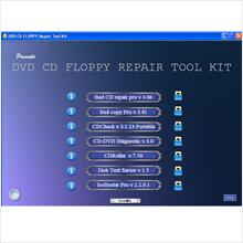 DVD-CD-FLOPPY Repair Tool Kit -7in1- [MUST HAVE]
