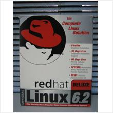 RARE !! LIMITED WWW.REDHAT.COM BOX SET !! OFFICIAL REDHAT LINUX 6.2 CD