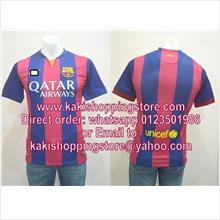 Barcelona FC Home 14/15 Player Issue-Visit-www.kakishoppingstore.com