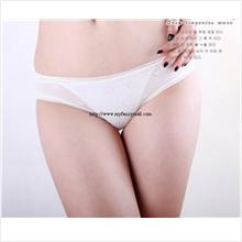 Sexy G-string Panty Lace T trousers Underwear T-string 03872-White