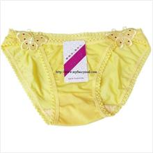 Sexy G-string Panty Lace T trousers Underwear T-string 3885-Yellow