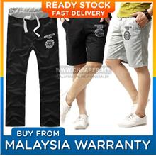 Men Sporty Beach Workout Shorts Home Pants)