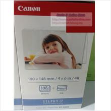CANON PAPER 4R FOR SELPHY CP SERIES KP-108IN (108SHEETS)