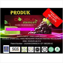 Double Stemcell Apple Grape 1 packet  14 SACHETS X 1200MG
