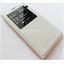 Premium BEIGE S View Flip Battery Cover Samsung Galaxy Note 3 N9005