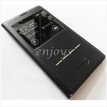 Premium Dot BLACK S View Flip Cover Case Samsung Galaxy S5 / G900F