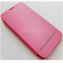 Chrome PINK Flip Battery Cover Pouch Samsung Galaxy Mega 5.8 i9152