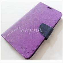 MERCURY Fancy Diary Book Case Cover Pouch Lenovo S930 ~Purple