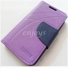 MERCURY Fancy Diary Book Case Cover Nokia X Dual Sim / A110 ~Purple