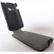 Enjoys: Leather Protective Case Pouch Samsung Galaxy mini 2 S6500 ~BLK