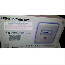 Right Power UPS Backup Battery 1000VA Power Box X10