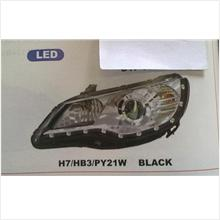 Honda Civic 07- Led Head Lamp