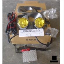 Honda Civic EK99 Fog Lamp Full Set Yellow