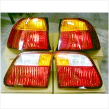Honda Civic EK99 Tail Lamp Set Yellow And Red