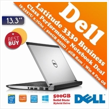 Dell Latitude 3330 i5 Business Class Laptop+SSHD+Office 2013+Win 8 Pro
