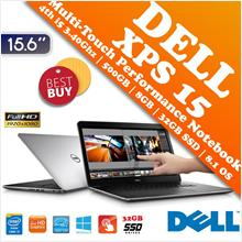 Dell XPS 15 4th i5 Super Performance Full HD Touch LED Notebook Deal!!