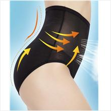 New Style~High Waist Polyester Hip up Underwear