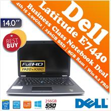 Dell Latitude 14(E7440) 4th i5+256GB SSD+Full HD LED Business Notebook