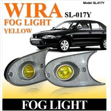 WIRA Front Bumper Projector Rally Yellow Fog Light Per Pair [SL-017Y]