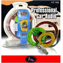 RAA HT-168 Speaker & RCA Cable Amplifier Installation Wirring Kit