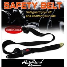 AUTO FRIEND Back Side Safety Belt 1 Pcs *JPJ Recommended*