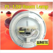 TYPE-R PL-12W Crystal White Ring Circle Room Lamp Market: Rm68!