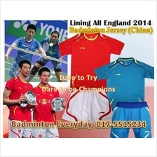 Lining All England 2014 Badminton Jersey Shirt (China)